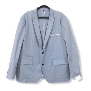 INC NEW Men's XXL 2X Blazer Jacket Cotton Stretch